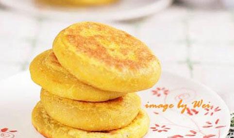 蜜薯黄金饼