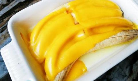 香甜烤香蕉