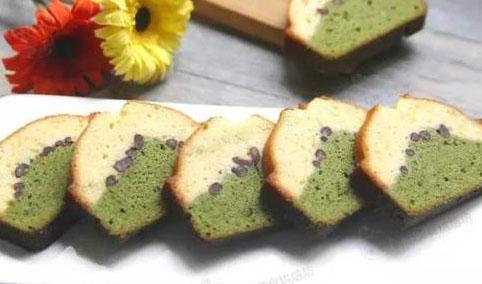 双色磅蛋糕