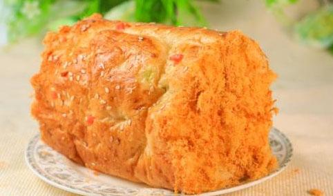 肉松满满面包