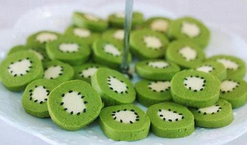 猕猴桃造型饼干