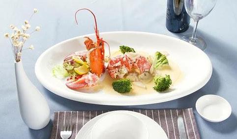 法式白汁烧龙虾