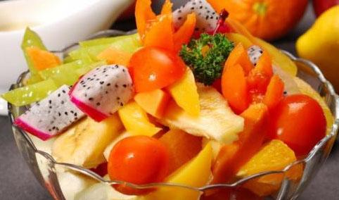 热带水果塔
