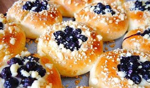墨西哥蓝莓排包