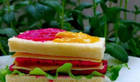 美式芝士三明治