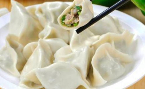 酸菜牛肉饺子