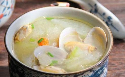 扇贝肉冬瓜汤