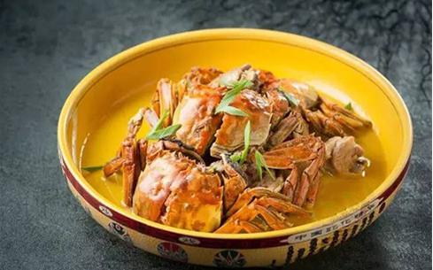 浓汤鸡煲蟹