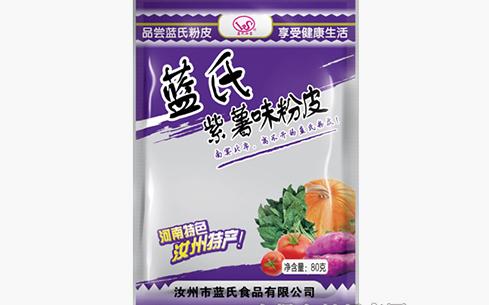 蓝氏汝宝紫薯味粉皮80克