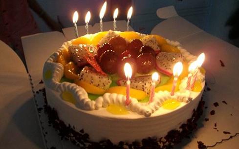 煌旗生日蛋糕培训