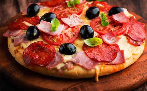 简易香肠披萨