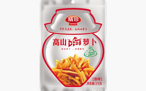 精珍高山响萝卜(香辣)35g