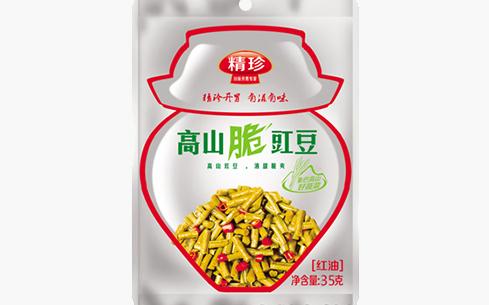 精珍高山脆豇豆(红油)35g