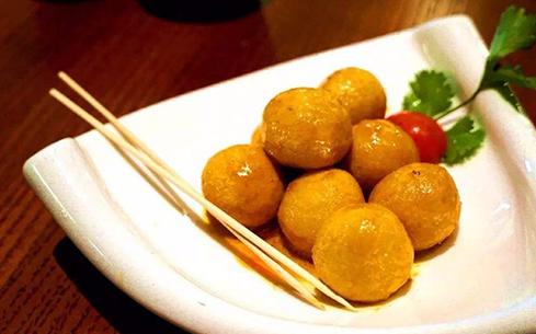 泰式鱼丸咖喱