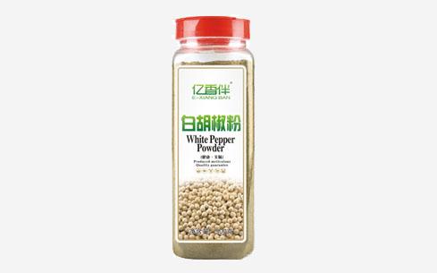亿香伴白胡椒粉500克