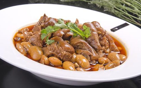 白扁豆烧肉