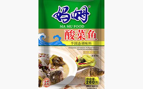 妈姆酸菜鱼调味料260g