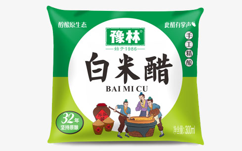 豫林白米醋300ml