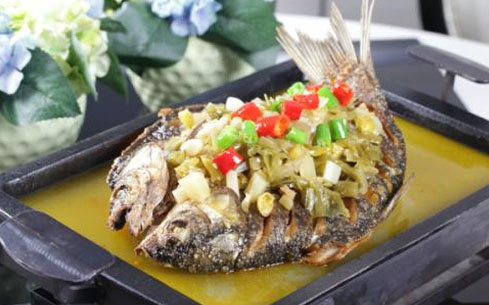 食尚香酸菜烤鱼培训