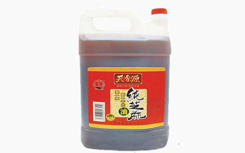 纯芝麻油方桶5L-天香源