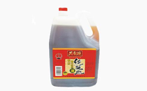 纯芝麻油扁桶5L-天香源
