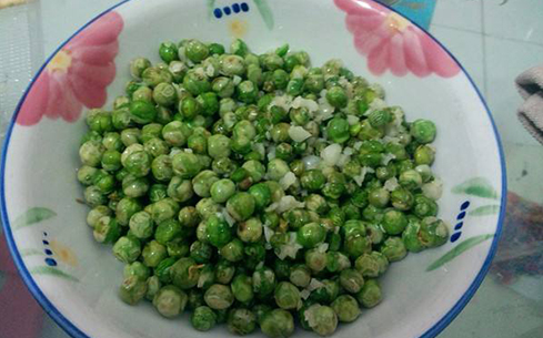 糟辣脆皮豌豆