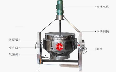ZC-300型用电式自动搅拌夹层锅