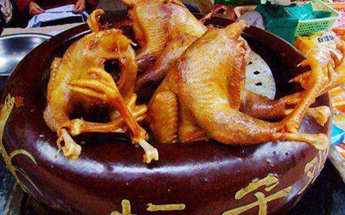 食里飘香桂花坛子鸡培训