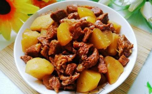 土豆烧牛肉培训