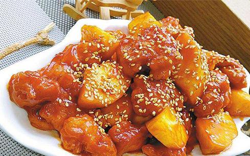 酱炒鸡胸肉