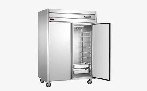 立式双门冰柜