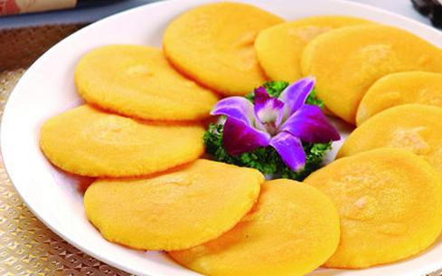 芹菜玉米饼