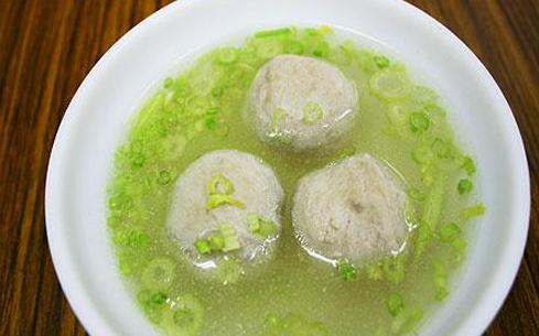 萝卜丝贡丸汤