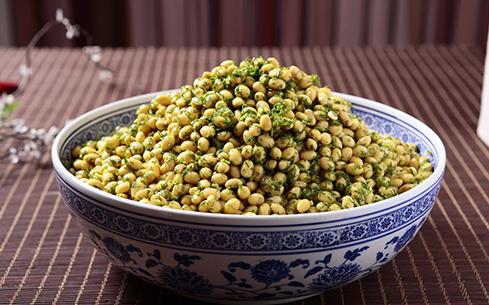 茴香焖黄豆