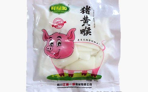 鲜绿源猪黄喉200g