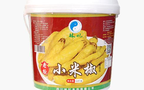 林妃老坛小米椒酱腌菜10kg
