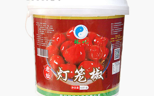 林妃老坛灯笼椒酱腌菜10kg