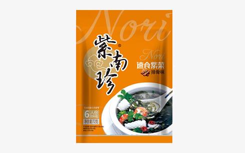 紫南珍速食紫菜排骨味72g-紫南珍