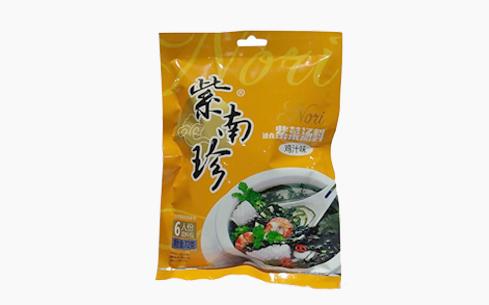 紫南珍速食紫菜鸡汁味72g-紫南珍
