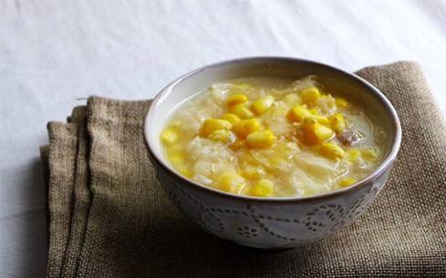 鸡蓉玉米汤