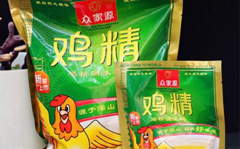 众家源鸡精调味料200克