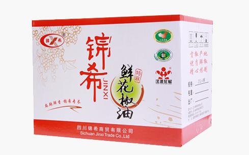 锦希鲜花椒油特麻265mlx12瓶