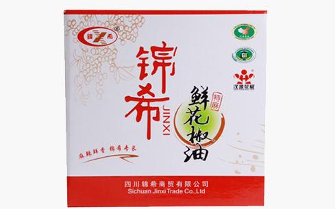 锦希鲜花椒油特麻400mlx12瓶