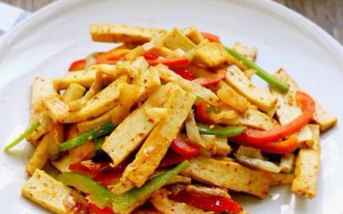 豆干炒尖椒
