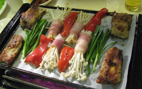 韩式纸上烧烤培训
