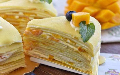 千层蛋糕培训