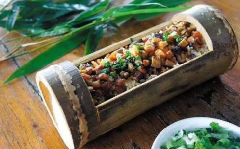 竹筒饭培训