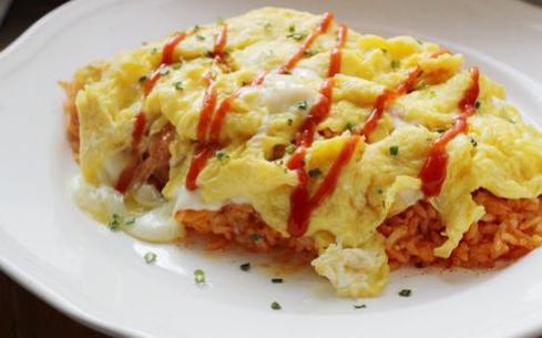蛋包饭培训