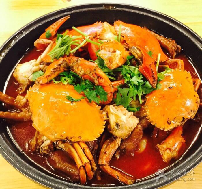 入味肉蟹煲