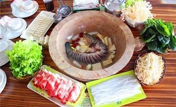云南抚仙石锅鱼